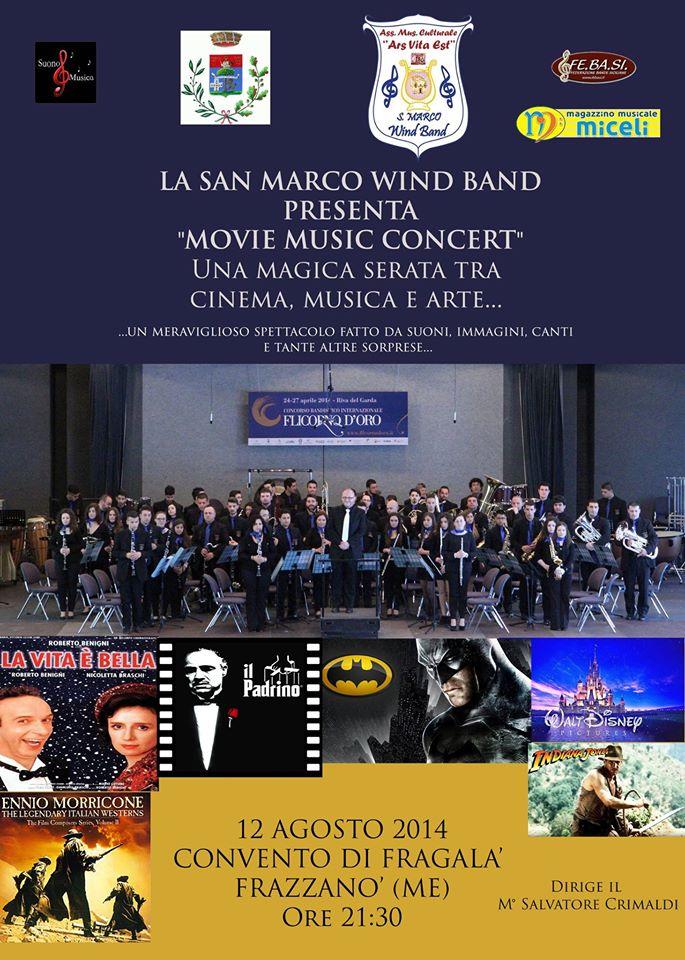2014 Movie Music FRAZZANO locandina