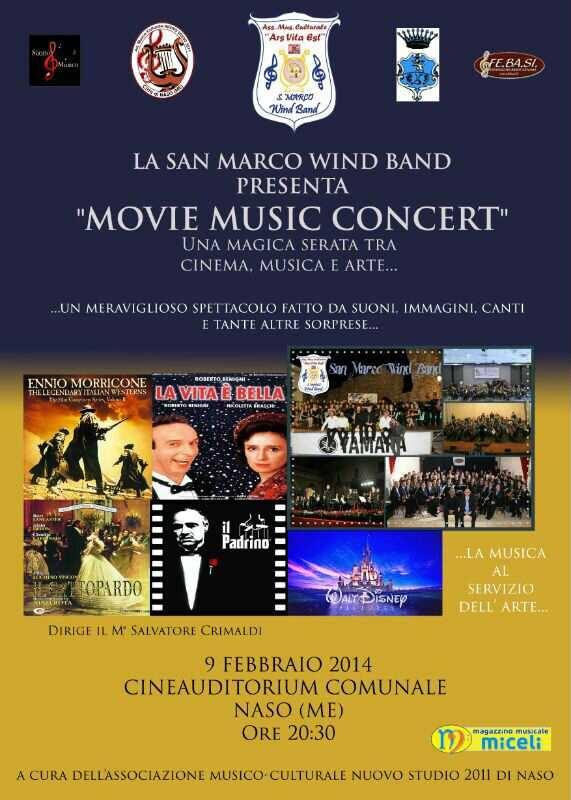 2014 Movie Music NASO locandina