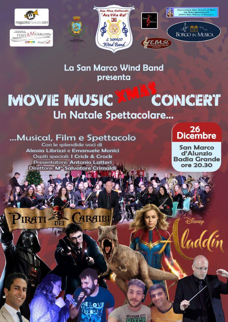 LOCANDINA MOVIE MUSIC XMAS CONCERT 2019